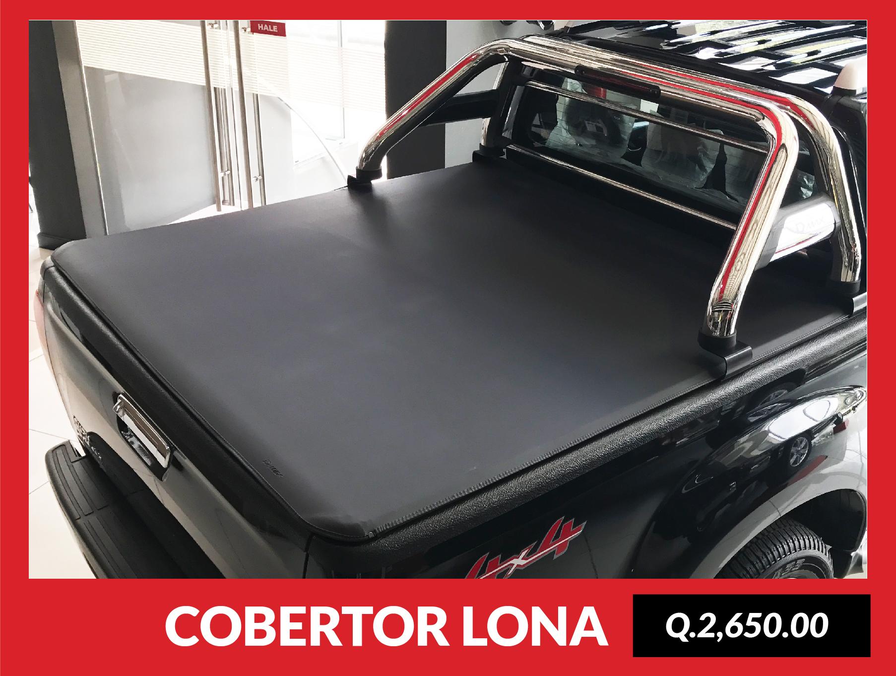 COBERTOR TIPO LONA